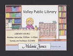 LIBRARIAN Personalized Cartoon Person Picture People Pic Gift - Custom Matted Print 8x10 or 9x12