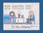 THERAPIST Personalized Cartoon Person Picture People Pic Gift - Custom Matted Print 8x10 or 9x12