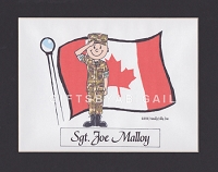 CANADIAN ARMY Personalized Cartoon Person Picture People Pic Gift - Custom Matted Print 8x10 or 9x12